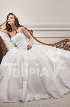 Tulipia Happy - Mario One Shoulder Wedding Dress, Mario, Bridal, Wedding Dresses, Happy, Fashion, Bride Dresses, Moda, Bridal Gowns