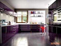 Kleine moderne Küche mit Halbinsel | 36 Wunderschöne Weiße Luxus ... | {Moderne küchen mit halbinsel 34}