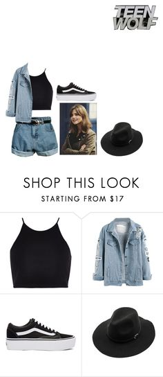 """Skylar Olivia McCall"" by mrsmendes2 on Polyvore featuring Retrò, River Island, Coleman, Vans, WithChic, TeenWolf and TeenWolfOC"