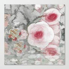 Floral Mirage Canvas Print