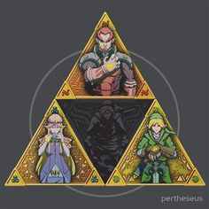 The Triforce.. and a bit of darkness