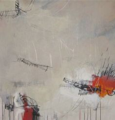 Jason Craighead, Re-Visit, Mixed media on canvas, 50 x 48 inches.