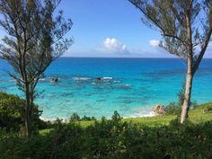 """Home is where the waves crash."" Quote and photo from the Bermuda Tourism Twitter account."