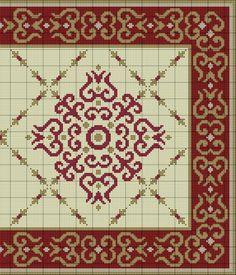 Gallery.ru / Фото #4 - Bordeaux Rug - azteca