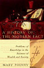 How did the fact become modernity's most favored unit of knowledge? How did description come to seem separable from theory in the precursors of economics and the social sciences?Mary Poovey explores these questions in A History of the Modern Fact, ranging across an astonishing array of texts and ideas from the publication of the first British manual on double-entry bookkeeping in 1588 to the institutionalization of statistics in the 1830s. She shows how the production of systematic knowle...
