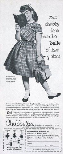 Another Chubettes Ad - for the Chubby Lass.
