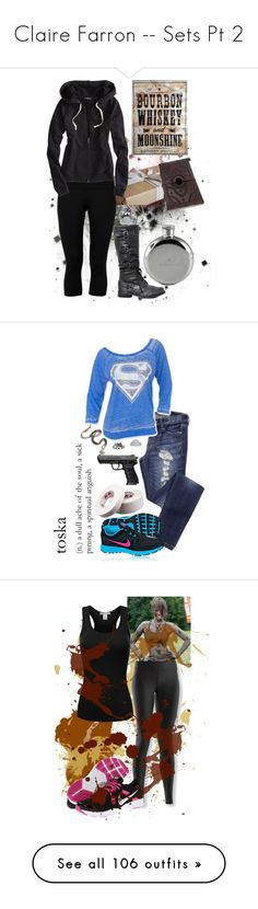 """""""Claire Farron -- Sets Pt 2"""" by cfarron ❤ liked on Polyvore featuring Lija, American Eagle Outfitters, jared, NIKE, Under Armour, Retrò, Miz Mooz, maurices, Converse and le top"""