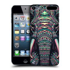HEAD CASE ELEPHANT AZTEC ANIMAL FACES BACK CASE FOR APPLE iPOD TOUCH 5G 5TH GEN