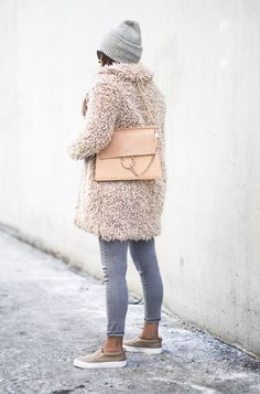 Outfit | How To Wear A Teddy Coat