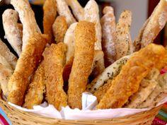 Masa de pan crujiente