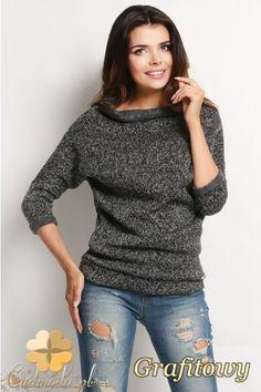 Sweter z półgolfem i długimi rękawami.  #cudmoda #awama #moda #fashion #jumpers #clothes #women