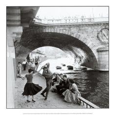 Rock 'n Roll sur les quais de Paris Reproduction artistiques