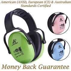 0-2 years River /& Luna Baby Hearing Protection Ear Muffs Certified White