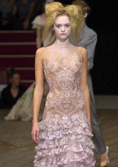 Gemma Ward for Alexander McQueen