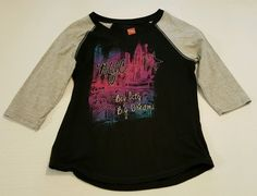 Hanes Girls 3/4 Sleeve Graphic Tee Size Large 10-12 Cotton Blend #354 in Clothing, Shoes & Accessories, Kids' Clothing, Shoes & Accs, Girls' Clothing (Sizes 4 & Up)   eBay