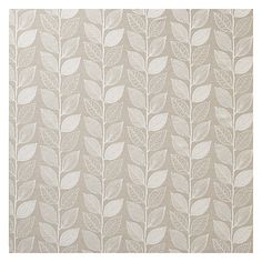 Buy John Lewis Amy Leaf Curtain, Natural   John Lewis