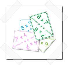 (Mise à jour de cet article en février 2017 avec l'ajout d'une version «couleur», aux couleurs des ceintures de tables de multiplications.) Je donne à mes élèves…