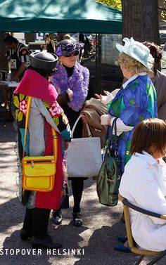 Bright colors on the streets of Helsinki - at any age. More design from Finland: https://www.youtube.com/watch?v=os1Qdi3axAs