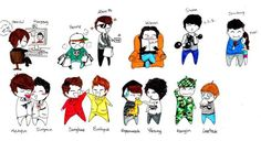 Cute!! <3..suju chibis well it's now Siwon and Heechul as well ~^____^~. But 15 forever :3