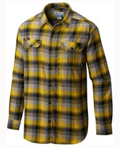 434030bf6 Columbia Men's Iowa Hawkeyes Flare Gun Long Sleeve Flannel Button Up Shirt  & Reviews - Sports Fan Shop By Lids - Men - Macy's