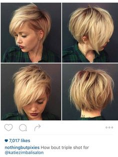 Asymmetrical Bob #texture #blonde #assymetrical