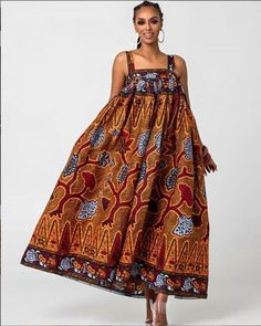 Thanks for stopping by! An ankara maxi dress made from quality ankara print to make you appear extremely elegant. 100% cotton and does not fade Please note that it can be sewn with other beautiful prints. Please attach fabric number to order or check other listings for other fabric options. The