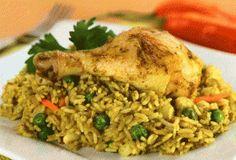 Yanuq, Cocina peruana paso a paso - Arroz con pollo