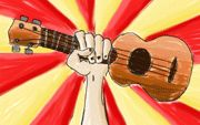 Viva La Ukulele ---this site is AMAZING any song u need, any key you need,every cord you need, everything you could ever need for the uke