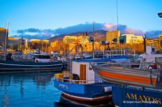 #69 Dawn breaks over Hobart, Tasmania.