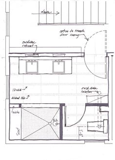 Free small bathroom floor plans with walk in shower and no for Sauna layouts floor plans