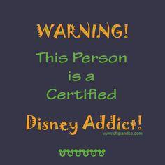 Are you a Disney Addict? If so visit us at www.disneyaddicts.com