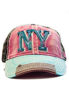 70a8c26b446 New York 1625 Vintage Baseball Cap (6 Styles Available) (Red White ...