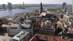"With Estonia to the north and Lithuania to the south, Latvia is ""the meat of the Baltic sandwich,"" says Lonely Planet, and ""loaded with colorful fixings."" Riga (pictured) is the country's cosmopolitan capital."