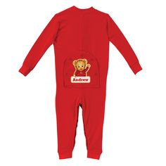 The Official PBS KIDS Shop | Daniel Tiger's Neighborhood Red Long Johns - Clothing