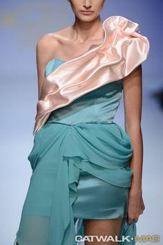 Anastasia Dosi 2014 SS One Shoulder, Shoulder Dress, Anastasia, Collections, Dresses, Design, Fashion, Vestidos, Moda