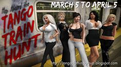 #Secondlife #Hunts Hop Aboard the Tango Hunt The hunt will run from March 5th thru April 5th