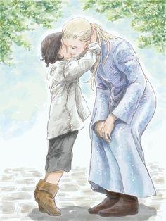 Legolas and little Aragorn -- Леголас и маленький Арагорн