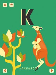 http://polly-glot.com/ K - Kangaroo