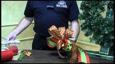 Yahoo! Video Detail for How To Tie A Bow - Trees n Trends - Unique Home Decor