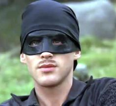 "Cary Elwes as the adorable Farm Boy and the fearsome, Dread Pirate Roberts in ""The Princess Bride."" Book by William Goldman"