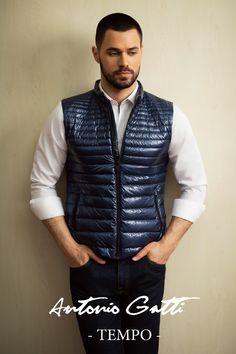 #vestabarbati #modabarbati #antoniogatti #vestaslim #vestapufgasca #vestacasual #vestafashion Vests, Jackets, Fashion, Down Jackets, Moda, Fashion Styles, Fashion Illustrations, Jacket