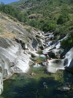 Summer time at Garganta de los Infiernos, Extremadura, Spain (by agomezig)