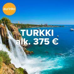 Värikäs ja eloisa Turkki kutsuu! 7 vrk, nyt alk. 375 €. Löydä Turkin aarreaitasta suosikkisi.  #Turkki #matkatarjous #matkailu