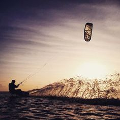 """How winters are spent best in Australia kite surfing on the Great Barrier Reef."" Adventure photographer @krystlejwright is #fullyalive.  What does being fully alive mean to you? Use #fullyalive to let us know. by drinkruna http://ift.tt/1UokkV2"