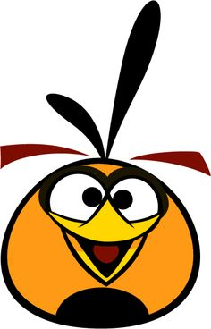 Bubbles, the Orange Bird is a character in the Angry Birds series of game.