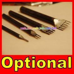 Diamond Chisel 1 2 4 6 Prong Leather Craft Pro Line Pre Stitching Hand Tool | eBay