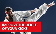 If you want to kick higher, it's important to know that you actually need more than flexibility, you need strength as well. Discover a list of carefully chosen exercises that will significantly improve your ability to kick higher. Jka Karate, Hip Stretches, Stretching, Goju Ryu Karate, Karate Kick, Hip Mobility, Ab Roller, Core Muscles, Abdominal Muscles