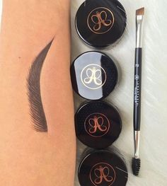 Anastasia Beverly Hills Dipbrow Pomade to help you avoid that awkward postcoital convo about where the hell your eyebrows went. - May 18 2019 at Eyebrow Makeup Products, Best Eyebrow Makeup, Makeup Tools, Best Makeup Products, Eye Makeup, Makeup List, Brown Makeup, Basic Makeup, Makeup Application