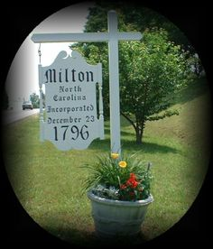 Milton, NC, Friends of Milton, Home of Cabinetmaker Thomas Day, Historic Homes & Art Gallery