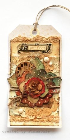 Romantic tag Altered Books by jadmen59